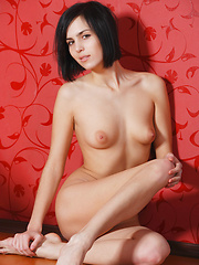 Skinny russian girl Macy