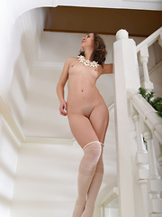 She makes sure you get a high dose of sexiness with every look you take on her perfectly shaped body and curves.